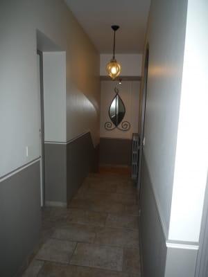 Tendance peinture couloir [Résolu]