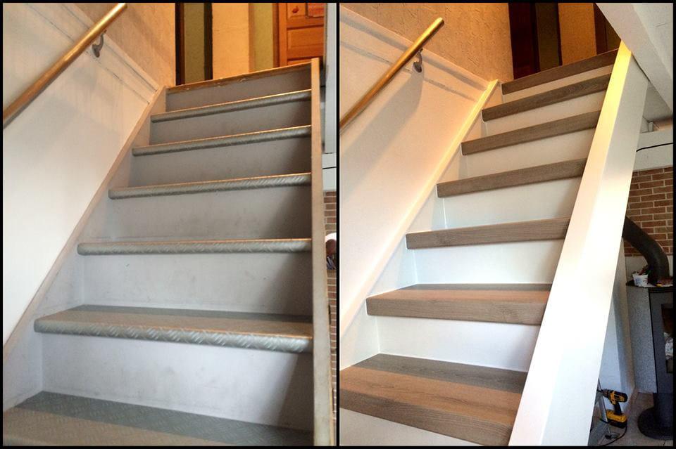 Extrêmement Comment recouvrir mon escalier intérieur ? [Résolu] NP07