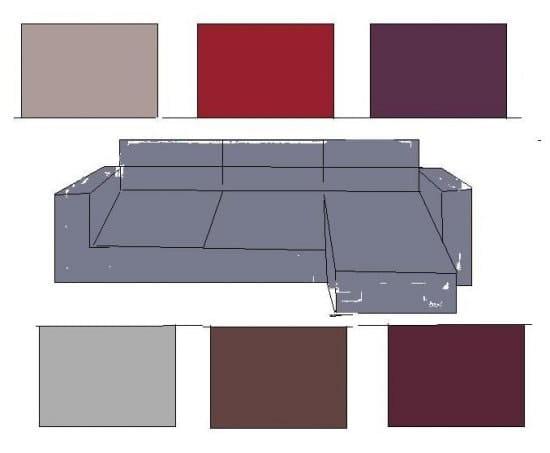 Quelle couleur mettre sur les murs de mon salon avec un canap gris souris for Quelle couleur associer avec du taupe