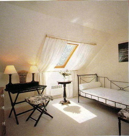 mettre un voilage sur un velux. Black Bedroom Furniture Sets. Home Design Ideas