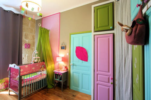 Beautiful Chambre Multicolore Fille Images - Home Decorating Ideas ...