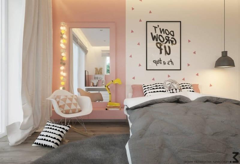 couleur des murs dune chambre dados fille de 14 ans. Black Bedroom Furniture Sets. Home Design Ideas