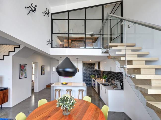 comment fermer une mezzanine sous toit. Black Bedroom Furniture Sets. Home Design Ideas