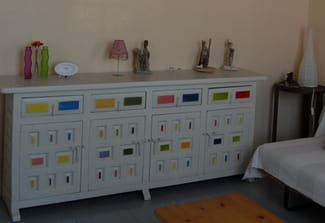 id es pour relooker meubles style espagnol. Black Bedroom Furniture Sets. Home Design Ideas