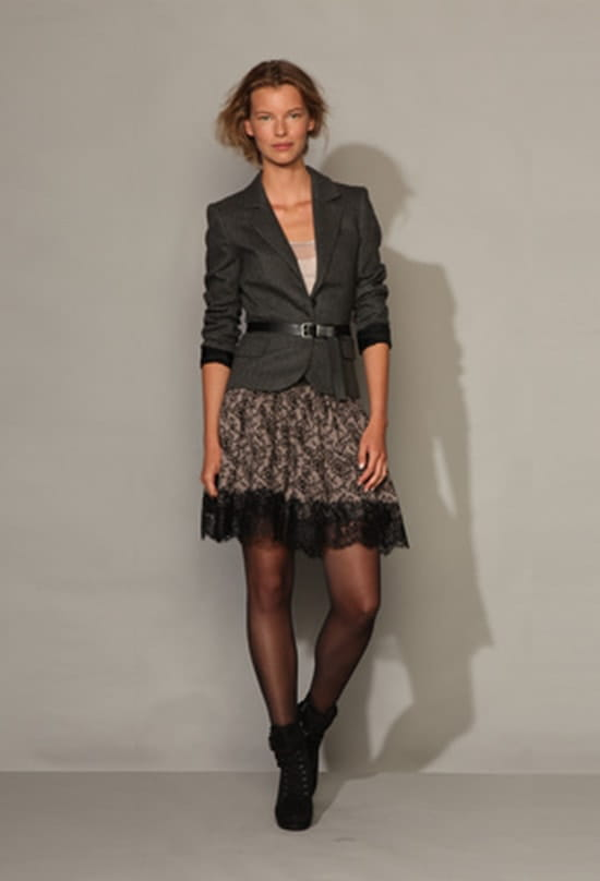 que porter comme chaussures ou bottes avec une robe en dentelle r solu. Black Bedroom Furniture Sets. Home Design Ideas