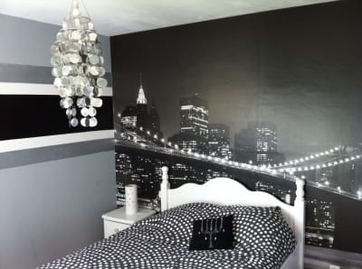 La chambre de ma fille id es d co am nagement - Decoration chambre new york ...