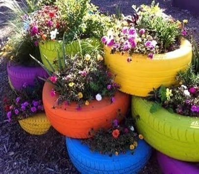 Decorer Son Jardin Avec Des Objets Recycles Resolu Deco Exterieure
