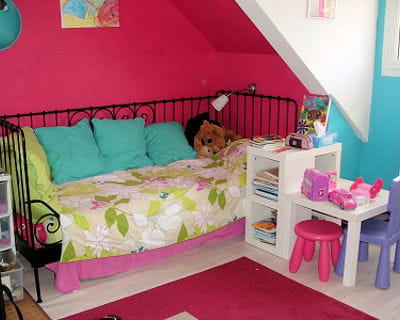 quelle d co pour la chambre d 39 une fille de 12 ans. Black Bedroom Furniture Sets. Home Design Ideas