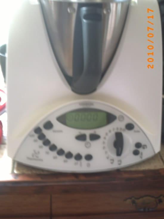 Qui poss de le sublime robot thermomix tm31 caf gourmet - Robot de cuisine qui cuit ...