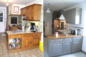Relooker ma cuisine en ch ne r solu - Renover vieille cuisine ...