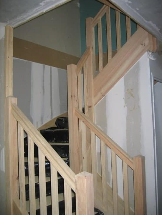 Couleur entrée avec escalier ouvert - Couleur et déco