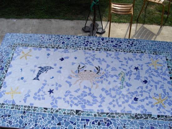 Qui a déjà fait une table en mosaïque ? [Résolu]
