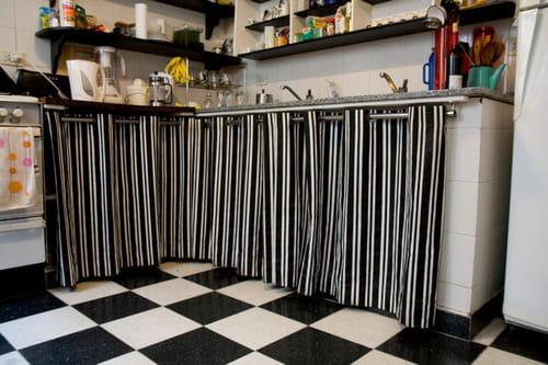 Cuisine gris perle quelle couleur pour sol et murs for Deco cuisine blanc et noire