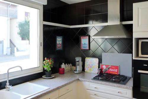 cuisine gris perle quelle couleur pour sol et murs. Black Bedroom Furniture Sets. Home Design Ideas