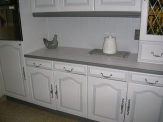 Relooker ma cuisine en ch ne r solu for Cuisine rustique repeinte en gris
